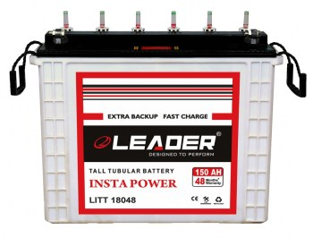 Leader 150Ah Tall Tubular Inverter Battery Chennai